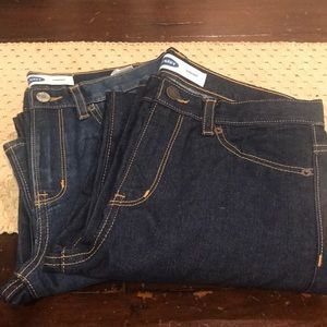 NWT OLD NAVY JEANS..  2 pair